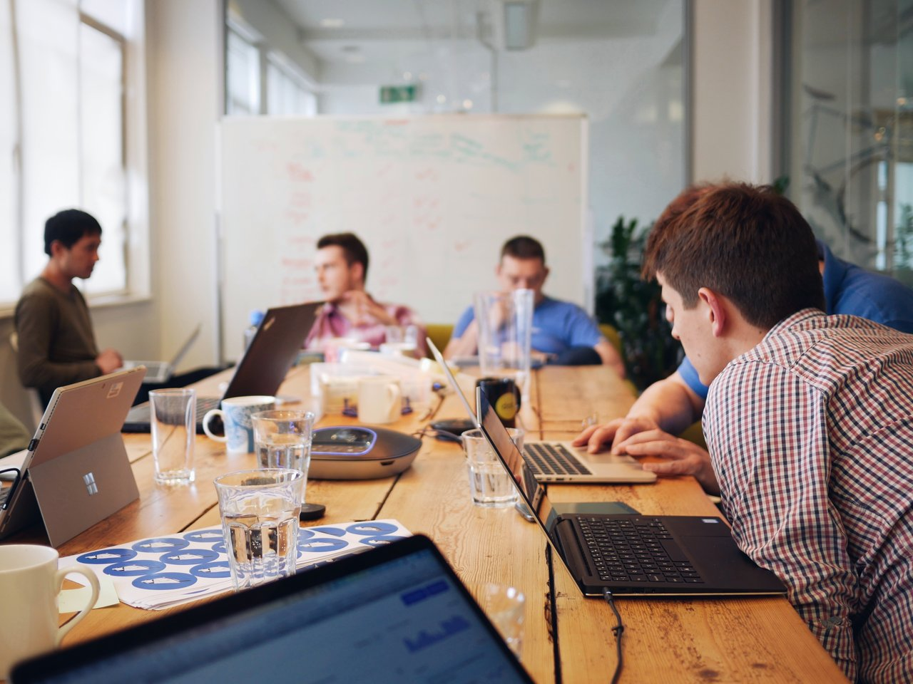 Wagtail NHS sprint - meeting room