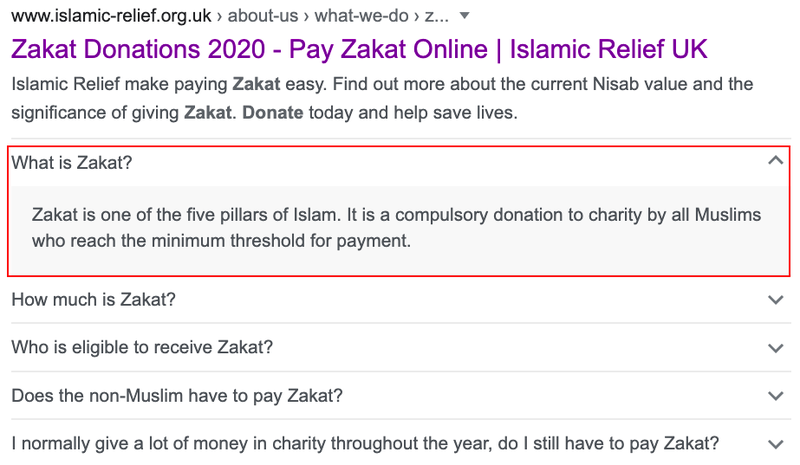 Islamic Relief Search