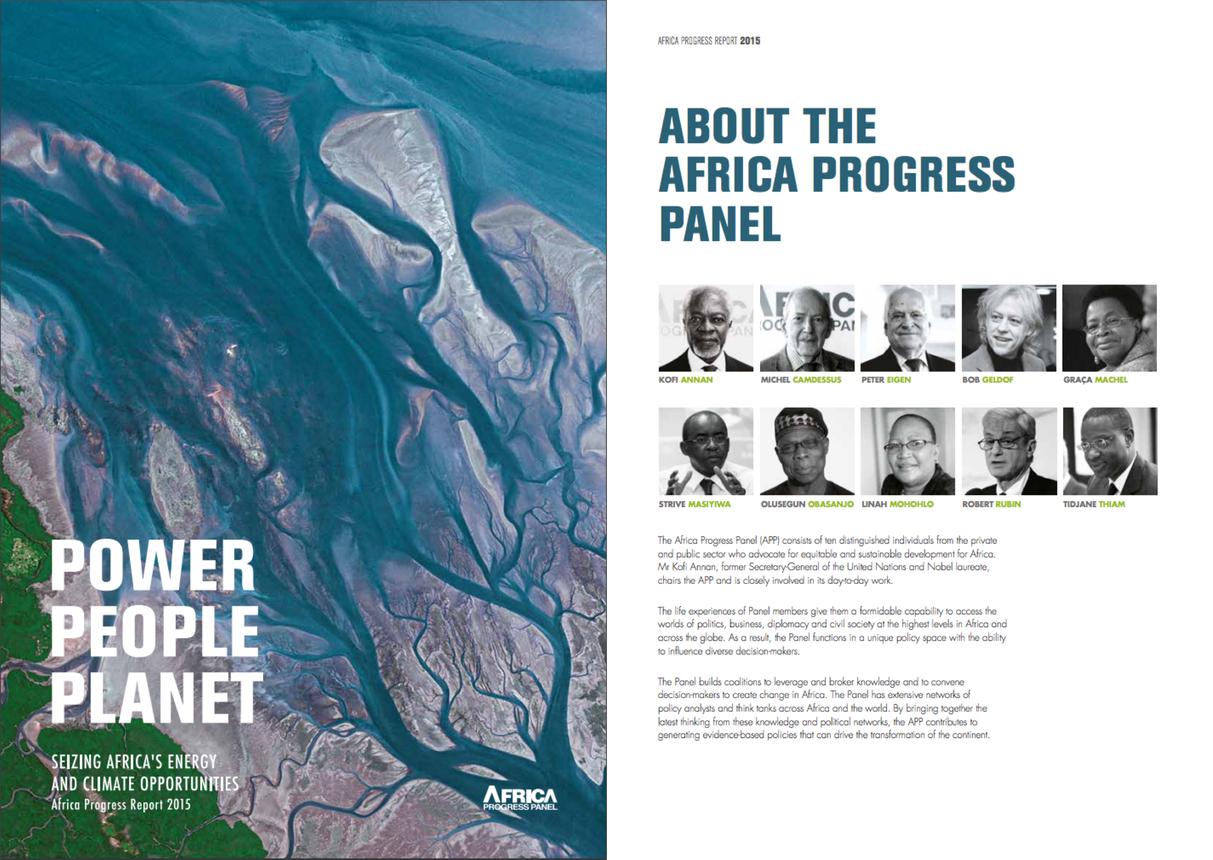 Africa Progress Panel Report 2015