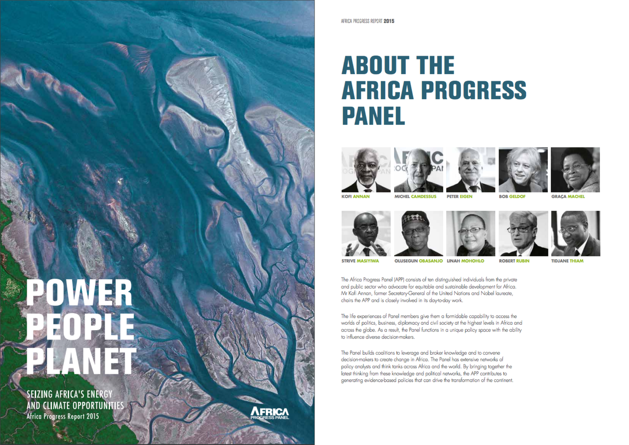 Africa Progress Panel Report 2015