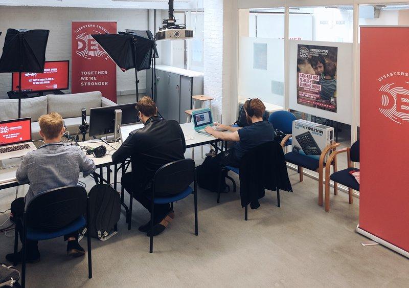 DEC Facebook Live studio