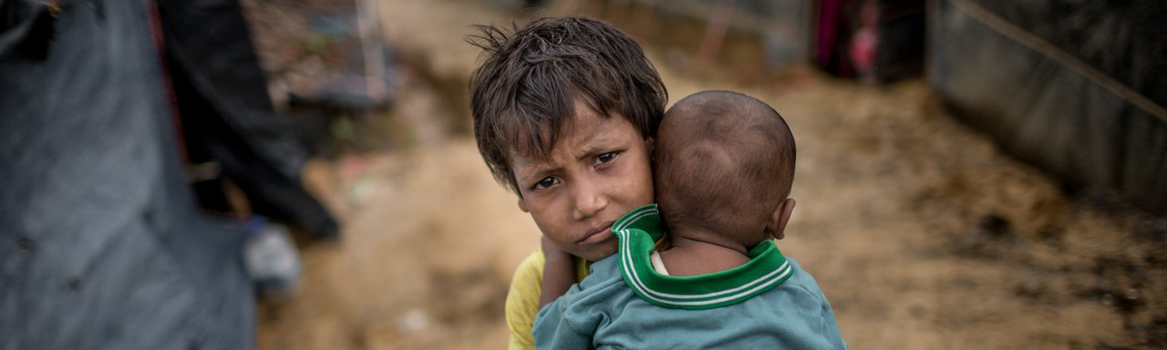Hero image for DEC Emergency Appeal for people fleeing Myanmar