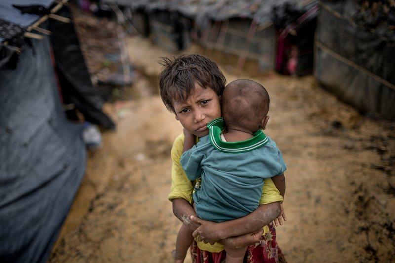 Hero image for DEC Emergency Appeal for people fleeing Myanmar
