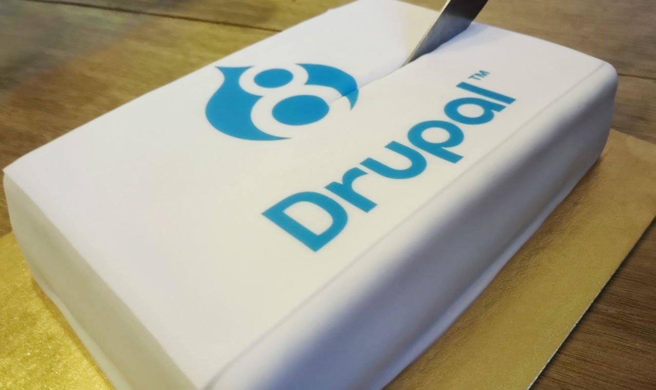 Drupal 8 cake