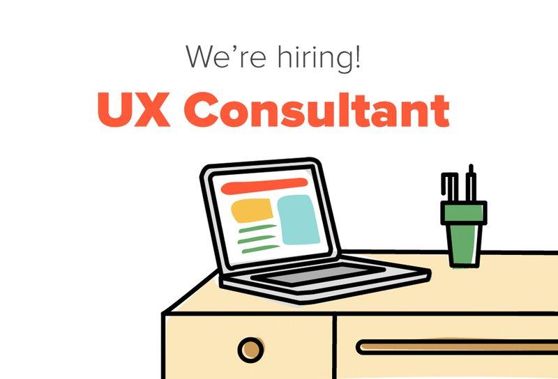 Hiring UX Consultant