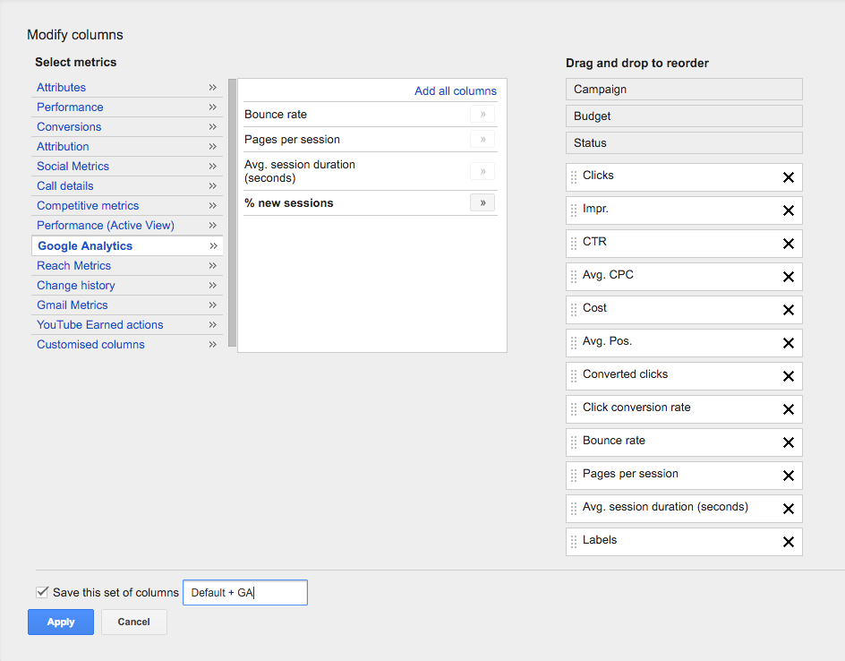 Google Ad Grants: Link Your Google Analytics Account to